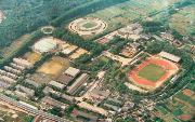 南京体育学院  校园一角