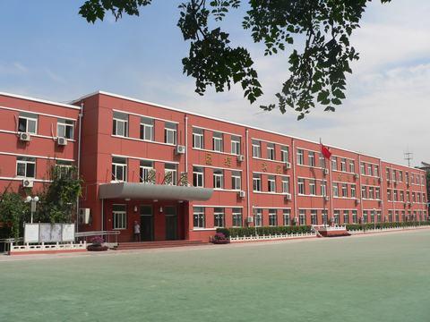 北京市丰台区师范学校附属小学校园风景|北京市丰台