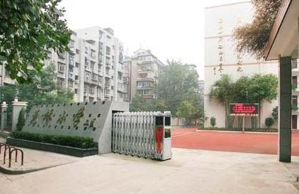 武汉市江岸区花桥小学校园风景|武汉市江岸区花桥小学