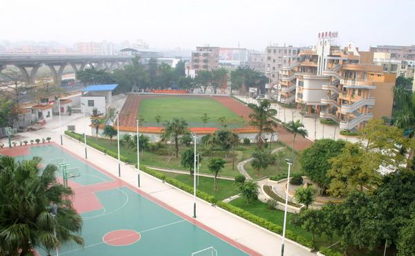 深圳市龙岗区爱联小学校园风景|深圳市龙岗区爱联小学