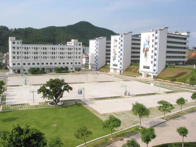 深圳市龙岗区横岗中学校园风景|深圳市龙岗区横岗中学