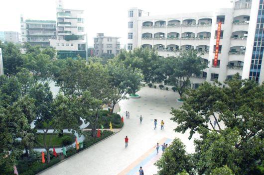 深圳市宝安区宝城小学校园风景|深圳市宝安区宝城小学