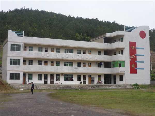 湖北省阳新县龙港镇中心学校校园风景|湖北省阳新县镇