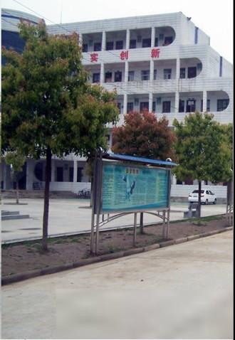 監利縣廖池初級中學校園風景|監利縣廖池初級中學排名