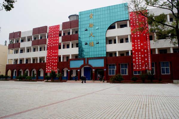 沙洋县李市镇李市中学校园风景|沙洋县李市镇李市