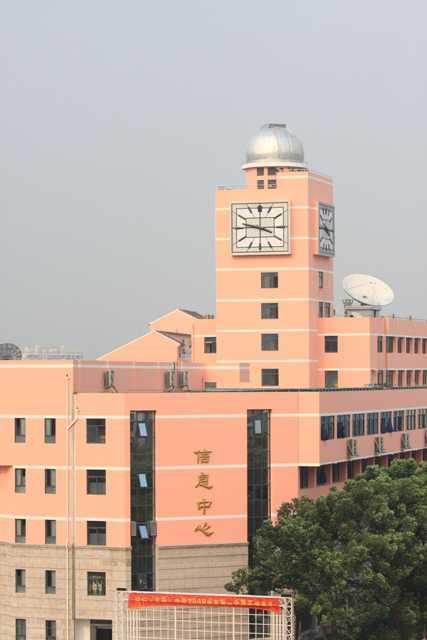 上海市闵行中学上海市闵行中学校园风光