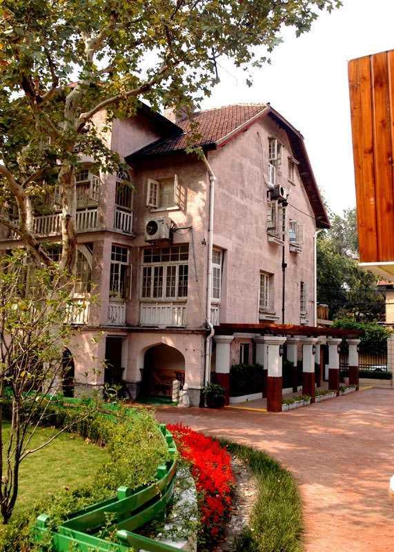 市思南路幼儿园校园风景|上海市思南路幼儿园排名
