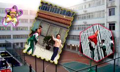 荆门市金虾路小学荆门市金虾路小学校园图片