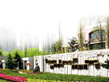 浙江省杭州高级中学校园风景|浙江省杭州高级中学