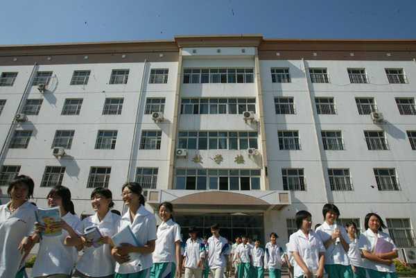 天津市静文高级中学天津市静文高级中学校园风光