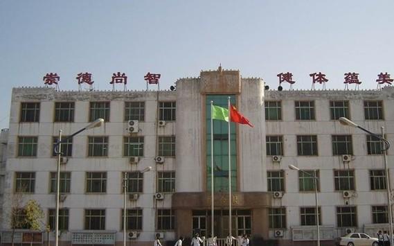 学校园风景|天津市武清区杨村第四高中排名,风上关系中学拖图片
