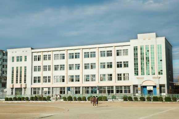 延边第一中学延边第一中学校园相片