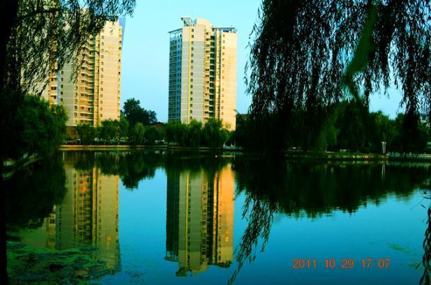湖南省常德市澧县第一中学校园风景 湖南省常德市
