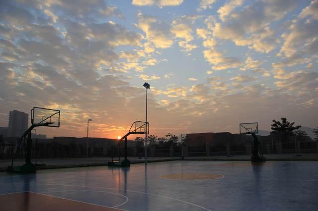深圳市龍崗區坪山高級中學校園風景|深圳市龍崗區坪山