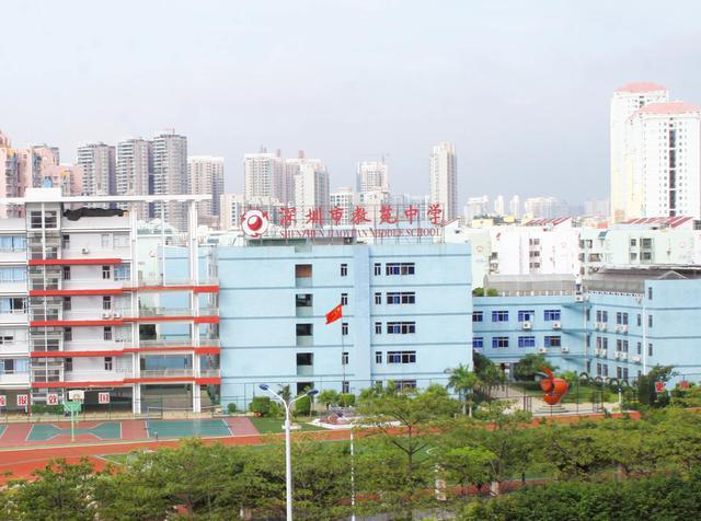 深圳市第三高级中学校园风景 深圳市第三高级中学排名,风景,地址图片
