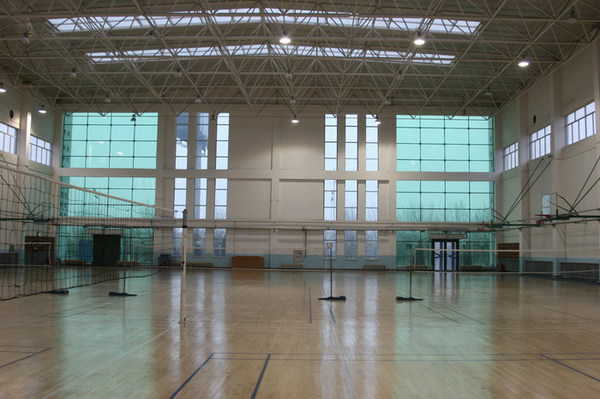 内蒙古包头市包钢一中校园相片