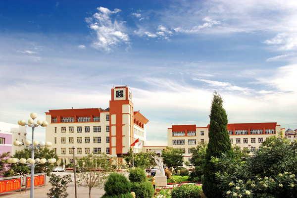 内蒙古包头市第七中学校园风景|内蒙古包头市第七