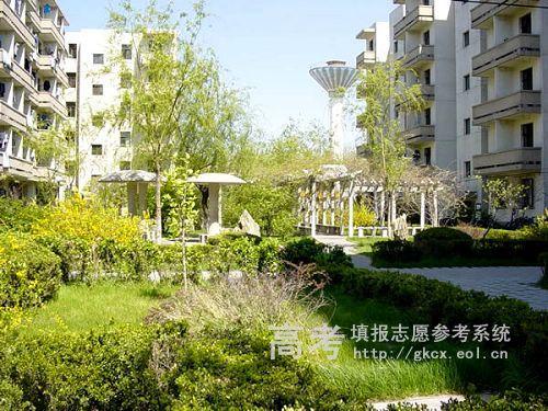 华北电力大学保定校区  校园一角