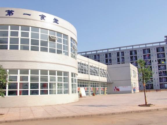 重庆大学城市科技学院校园风景|重庆大学城市