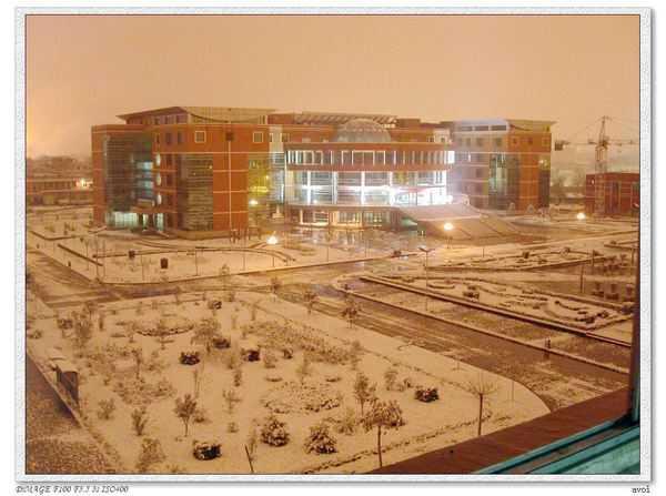 西安外国语大学校园鸟瞰图
