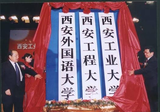 西安工业大学院校合作成立