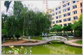 广西财经学院  校园一角