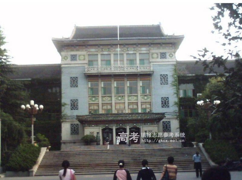 山东师范大学  校园一角
