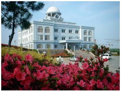 青岛滨海学院  校园一角