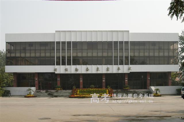 北京物资学院  校园一角