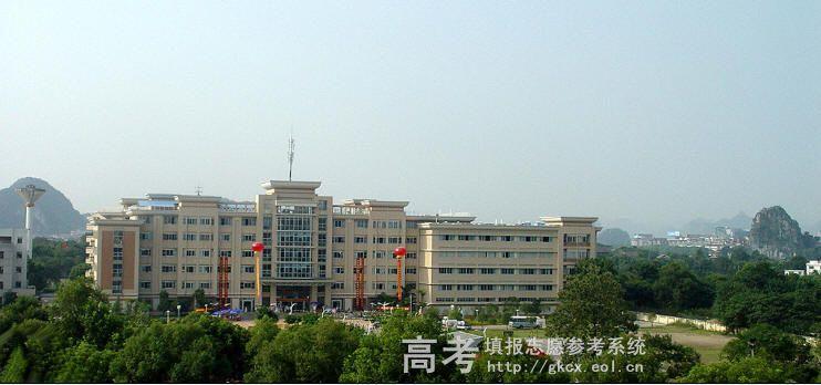 桂林医学院  校园一角