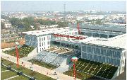 徐州工程学院           图书馆鸟瞰
