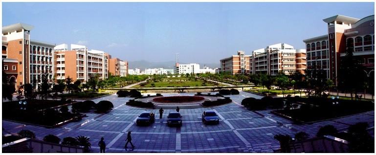 丽水学院           学院中心广场