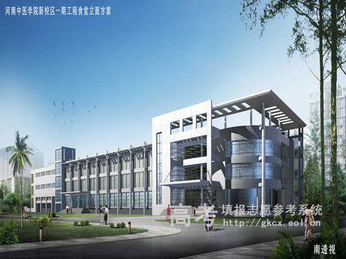 河南中医学院  校园一角