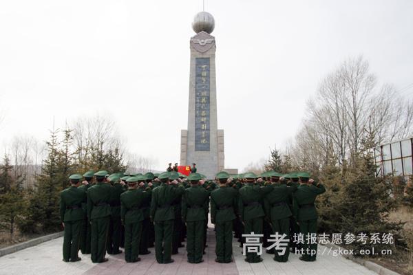 武警北京指挥学院  校园一角