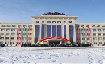 内蒙古海拉尔市第一中学内蒙古海拉尔市第一中学校园环境