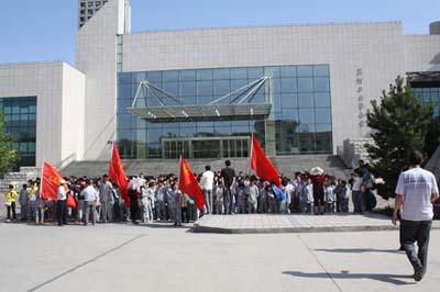 新疆石河子总场第一中学新疆石河子总场第一中学校园环境