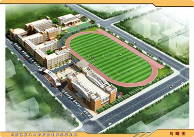 内蒙古鄂尔多斯市东胜区闻德中学内蒙古鄂尔多斯市东胜区闻德中学校园环境