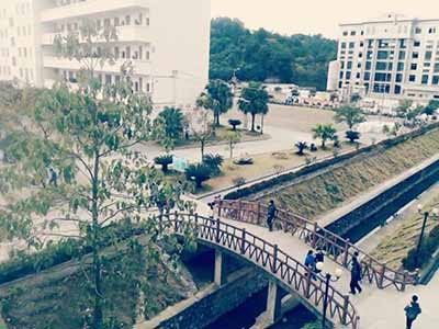 广西兴安县第二中学广西兴安县第二中学校园环境