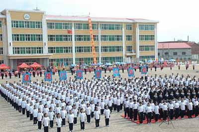 黑龙江省鸡西市田家炳中学校园风景 黑龙江省鸡西市田家炳中学排名,