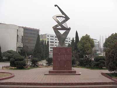 湖北省枣阳市高级中学校园风景|湖北省枣阳市高级
