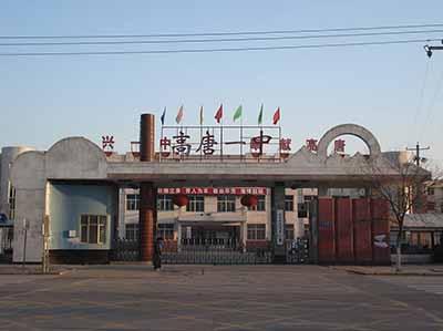 山东省高唐县第一中学校园风景 山东省高唐县第一中学排名,风景,地图片